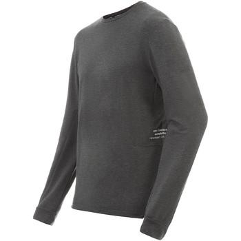 textil Herr Långärmade T-shirts New Balance NBMT91252HC Grå