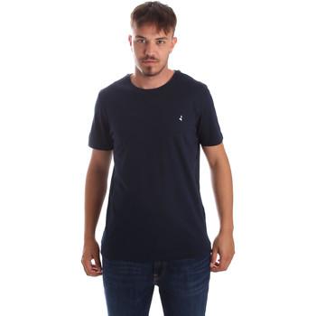 textil Herr T-shirts Navigare NV31069 Blå