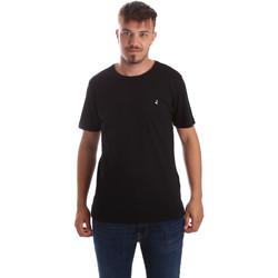 textil Herr T-shirts Navigare NV31069 Svart