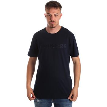 textil Herr T-shirts Navigare NV31070 Blå