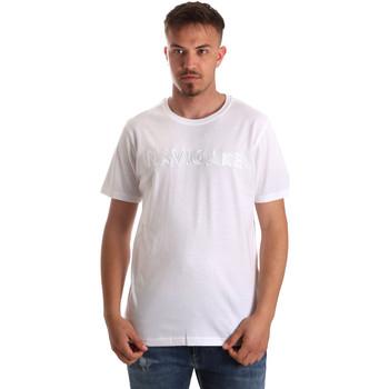 textil Herr T-shirts Navigare NV31070 Vit