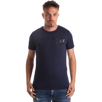 textil Herr T-shirts Navigare NV31081 Blå