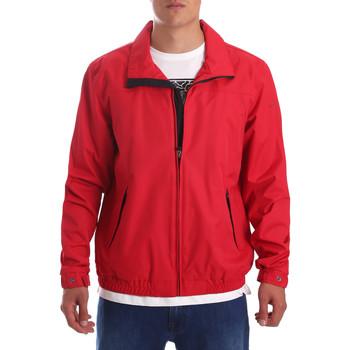 textil Herr Sweatjackets Navigare NV67046 Röd