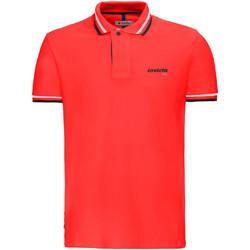 textil Herr Kortärmade pikétröjor Invicta 4452202/U Röd