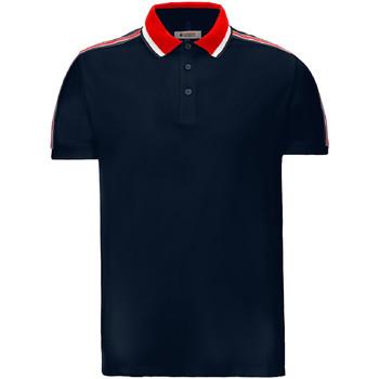 textil Herr Kortärmade pikétröjor Invicta 4452206/U Blå