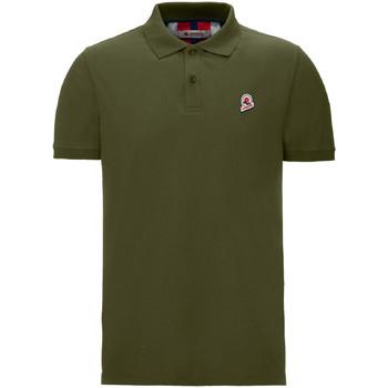 textil Herr Kortärmade pikétröjor Invicta 4452208/U Grön
