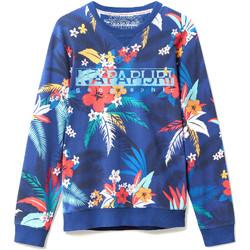 textil Herr Sweatshirts Napapijri N0YIF8 Blå