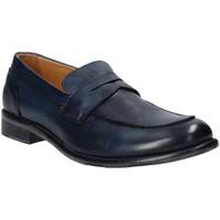 Skor Herr Loafers Exton 3106 Blå