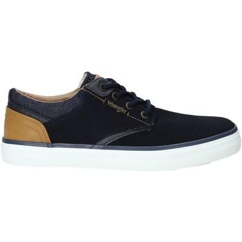 Skor Herr Sneakers Wrangler WM91121A Blå