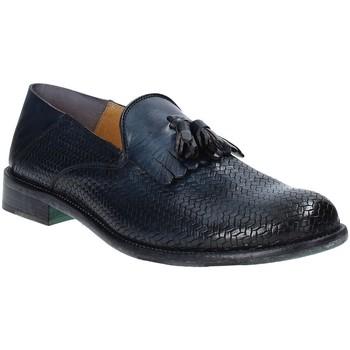Skor Herr Loafers Exton 3105 Blå