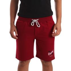 textil Herr Shorts / Bermudas Key Up 2F26I 0001 Röd