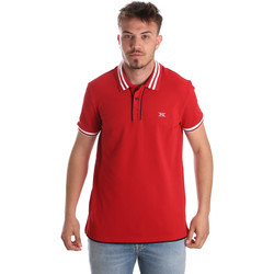 textil Herr Kortärmade pikétröjor Nero Giardini P972210U Röd