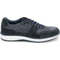 Skor Herr Sneakers Grunland SC4521 Blå