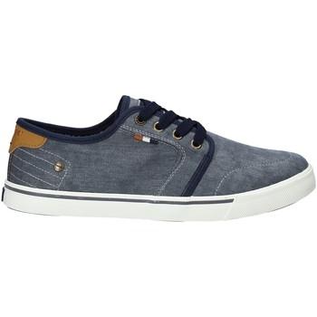 Skor Herr Sneakers Wrangler WM91100A Blå