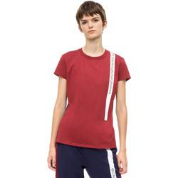 textil Dam T-shirts Calvin Klein Jeans 00GWH8K169 Röd