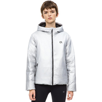 textil Dam Vindjackor Calvin Klein Jeans 00GWH8O598 Grå