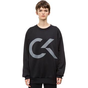 textil Dam Sweatshirts Calvin Klein Jeans 00GWH8W353 Svart