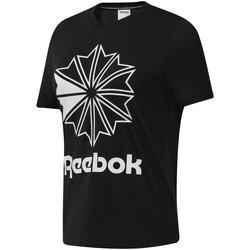 textil Dam T-shirts Reebok Sport DT7219 Svart