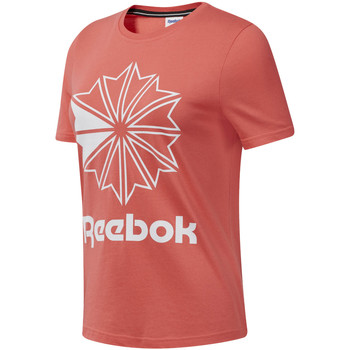 textil Dam T-shirts Reebok Sport DT7223 Rosa