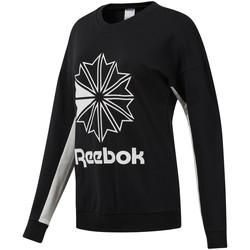 textil Dam Sweatshirts Reebok Sport DT7241 Svart