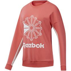 textil Dam Sweatshirts Reebok Sport DT7245 Rosa