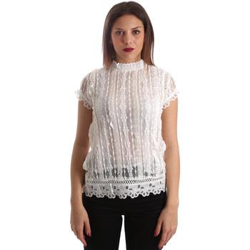 textil Dam Blusar Fracomina FR19SP521 Vit