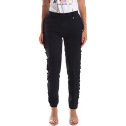 textil Dam Chinos / Carrot jeans Fracomina FR19SP666 Blå
