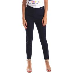 textil Dam Chinos / Carrot jeans Fracomina FR19SP133 Blå