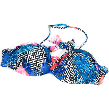 textil Dam Bikinibyxa / Bikini-bh Ea7 Emporio Armani 912089 9P432 Blå