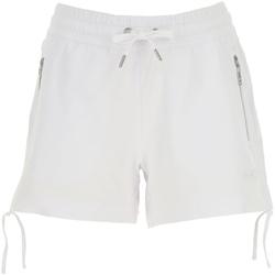 textil Dam Shorts / Bermudas Ea7 Emporio Armani 3GTS52 TJ31Z Vit