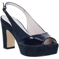 Skor Dam Sandaler Grace Shoes 679004 Blå