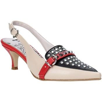 Skor Dam Pumps Grace Shoes 319S014 Beige