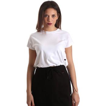 textil Dam T-shirts Champion 111487 Vit