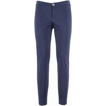 textil Dam Chinos / Carrot jeans Nero Giardini P960510D Blå