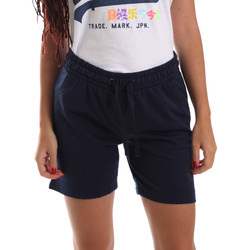 textil Dam Shorts / Bermudas Key Up 5F59G 0001 Blå