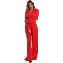 textil Dam Uniform Byblos Blu 2WD0010 TE0012 Röd