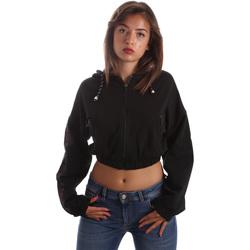 textil Dam Sweatshirts Byblos Blu 2WF0005 TE0042 Svart