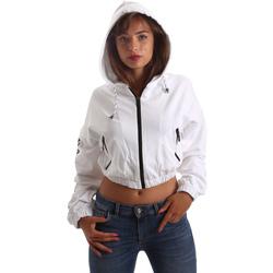 textil Dam Sweatshirts Byblos Blu 2WF0005 TE0042 Vit
