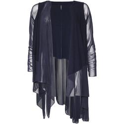textil Dam Koftor / Cardigans / Västar Smash S1953411 Blå