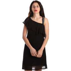 textil Dam Korta klänningar Gaudi 911FD15011 Svart