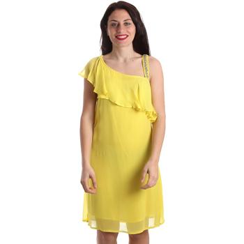 textil Dam Korta klänningar Gaudi 911FD15011 Gul