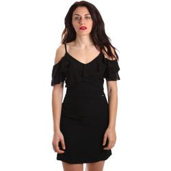 textil Dam Korta klänningar Gaudi 911FD15049 Svart