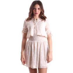 textil Dam Korta klänningar Gaudi 911BD15006 Beige