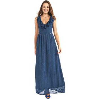 textil Dam Långklänningar Gaudi 911BD15007 Blå