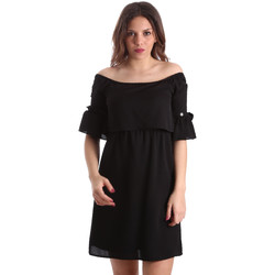 textil Dam Korta klänningar Gaudi 911BD15015 Svart