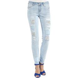textil Dam Jeans boyfriend Gaudi 911BD26013 Blå