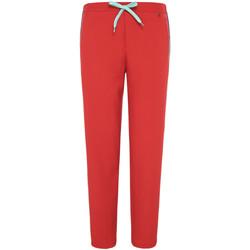 textil Dam Joggingbyxor Pepe jeans PL211284 Röd
