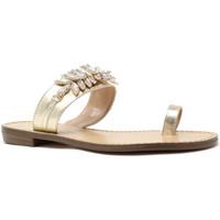Skor Dam Flip-flops Gold&gold A19 GL303 Guld