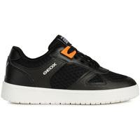 Skor Barn Sneakers Geox J925PB 01454 Svart