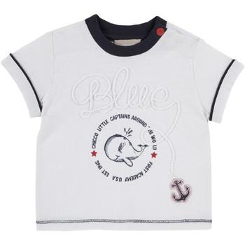 textil Barn T-shirts Chicco 09006679000000 Vit